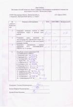 протокол ревизионной комиссии